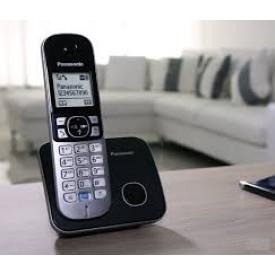 Panasonic KX-TG6811GR Black Ασύρματο Τηλέφωνο
