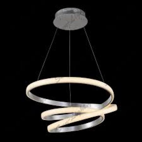 μοντερνο κρεμαστο φωτιστικο σαλονιου με led φωτισμο SunLight 00-1496-34-346