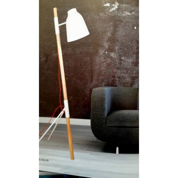 δαπεδου φωτιστικο ξυλινο με μεταλλο μοντερνο
