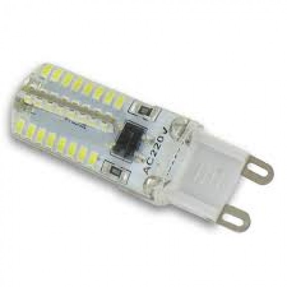 φωτιστικα led LED LAMP G9 3.5WATT SILICON λαμπα led G9