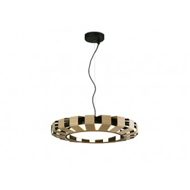 PAULINE LED Wood pendant lamp Faro Barcelona Light