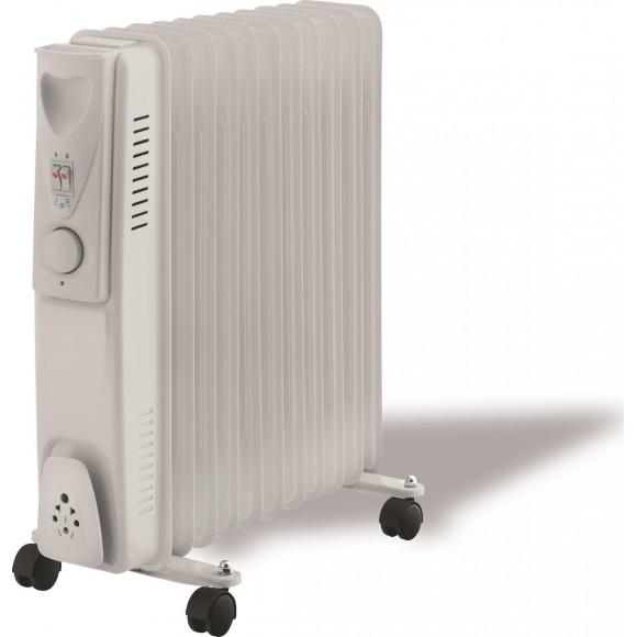 Ηλεκτρικό Καλοριφέρ Λαδιού 11 Φέτες 2500W 147-29461 Eurolamp