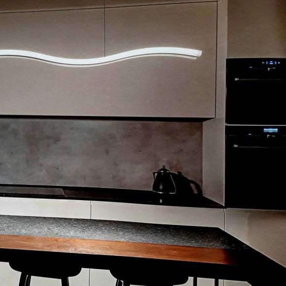 φωτιστικα led φωτιστικο λευκο κρεμαστο μοντερνο PERENZ 6364 B LC