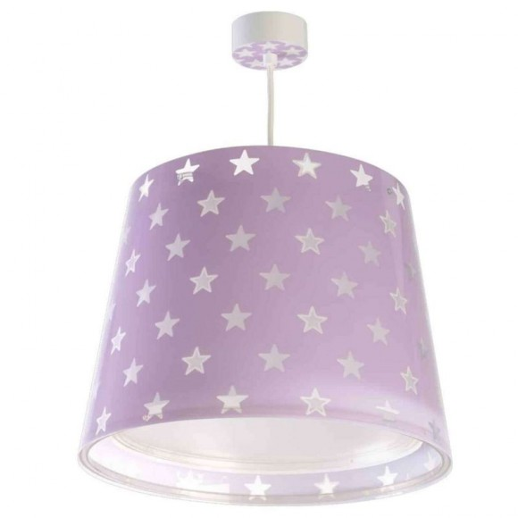 εφηβικο Φωτιστικό Κρεμαστό Οροφής Stars 81212 L Lilac Ango