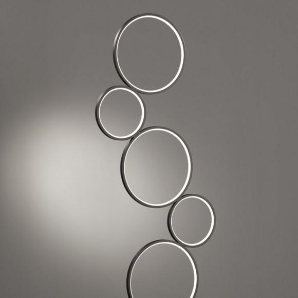 Φωτιστικό Δαπέδου Trio Lighting Rondo 422610532 > LED μαυρο