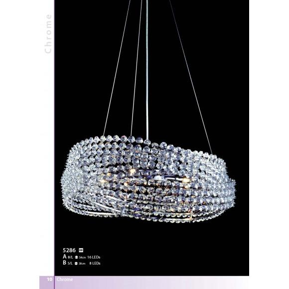 crystal ring Φωτιστικά μοντέρνα