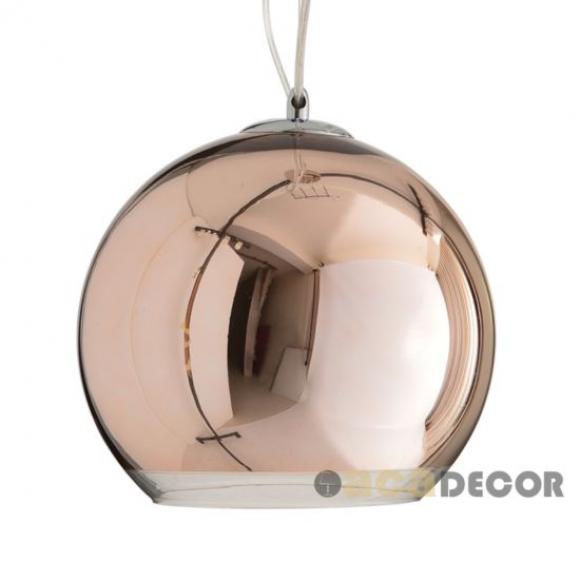 Φωτιστικό Οροφής Μονόφωτο Aca OYD6042BCG Copper/Gold Φωτιστικά μοντέρνα