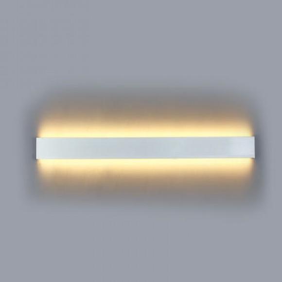 Inlight 43013 Φωτιστικό Τοίχου Ασημί 16W 3000K