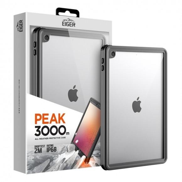 Eiger θήκη προστασίας Peak 3000m για iPad 10.2 (2019) & (2020) μαύρη EGPE00129