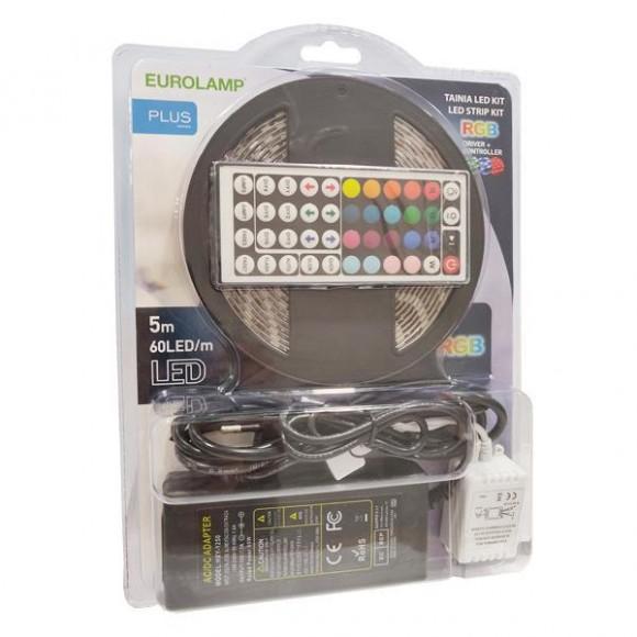 Eurolamp Αδιάβροχη Ταινία LED SMD5050 12V RGB 5m (145-70041)