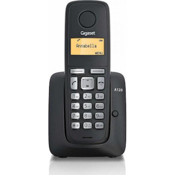 Ασύρματο Ψηφιακό Τηλέφωνο Gigaset A120 Μαύρο